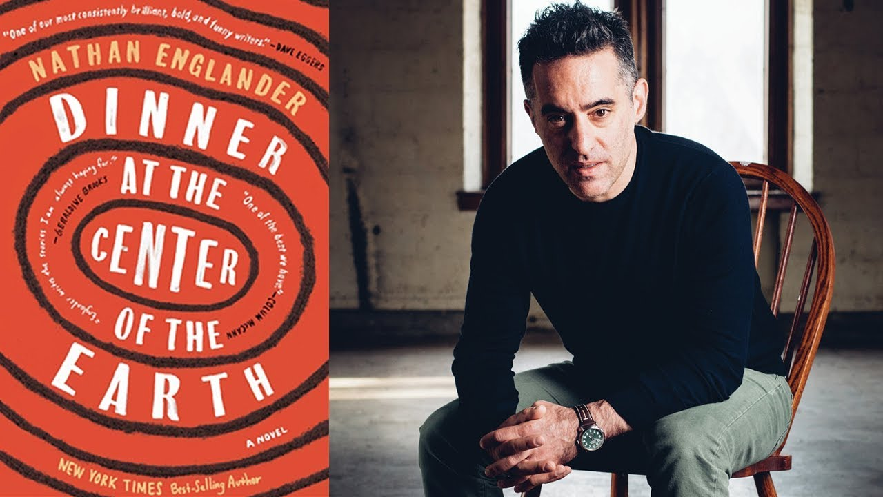 """Nathan Englander on 'Dinner at the Center of the Earth' at the 2018 AWP Book Fair"""