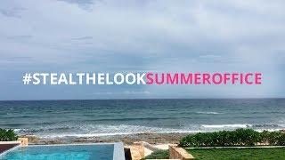 Nosso escritório de verão em Tulum | Steal the Look Summer Office
