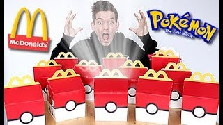 BUYING The ENTIRE Pokemon McDonalds Menu!!!! by Unlisted Leaf