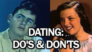 """I riff """"Dating Do's and Dont's,"""" a short film from 1949 that really help you out. SUBSCRIBE: http://bit.ly/S9N4TS Support on Patreon..."""