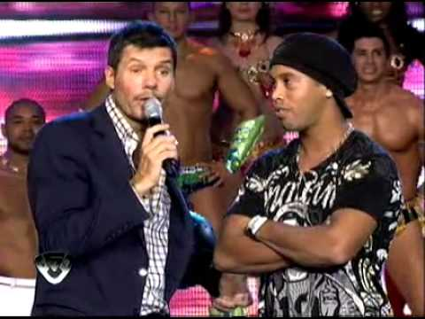 Showmatch 2011 - Ronaldinho estuvo en Showmatch