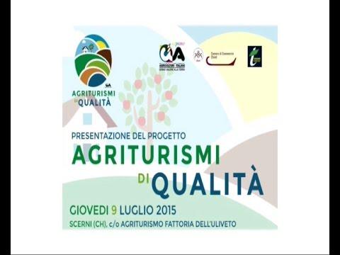 "Presentazione progetto ""Agriturismi di Qualità"" 1° parte"