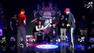 Melman vs Champiwan – 멋 2018 FINAL POPPING 1on1 BATTLE SIDE BEST8