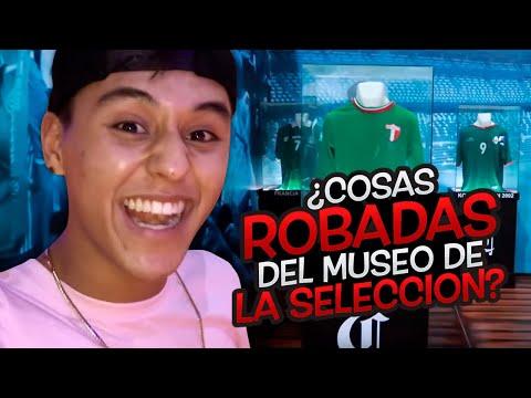 ¿Cosas Robadas del Museo de la Seleccion Mexicana?  Soy Fredy