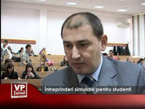 Întreprinderi simulate pentru studenţi