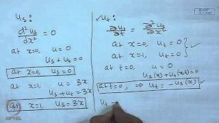 Mod-10 Lec-24 Solution Of Parabolic PDE : Separation Of Variables Method