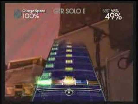 AlienShiskaBob - fun solo to tell you the truth played on xbox 360 recorded on a gamebridge rock band expert 100% fc woohoo video from hiddenmoose.