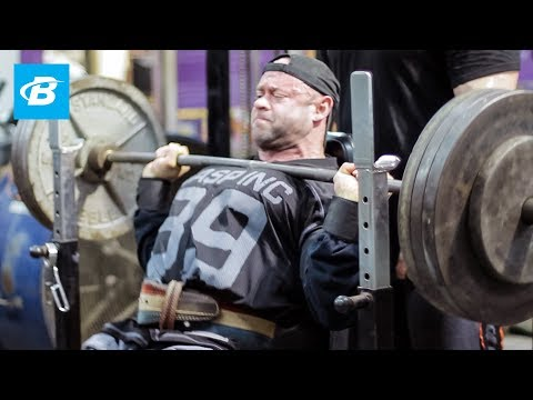 Branch Warren Shoulder Workout – Bodybuilding.com