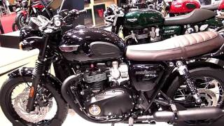 10. 2018 Triumph Bonneville T120 Black Special Lookaround Le Moto Around The World