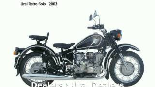9. 2006 Ural Retro 750 Solo -  Transmission Specification Details Features superbike Info