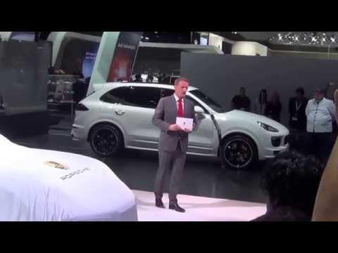 Porsche - Dubai International Motor Show 2015