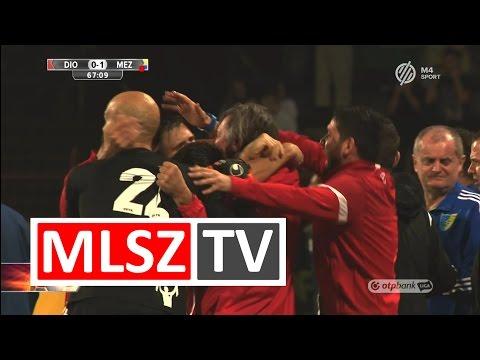 9. forduló: DVTK - Mezőkövesd 1-1 (0-1)