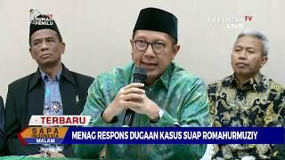 Video Begini Tanggapan Menteri Agama Soal Dugaan Kasus Suap Romahurmuziy MP3, 3GP, MP4, WEBM, AVI, FLV Maret 2019