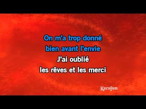Karaoké L'envie - Johnny Hallyday *