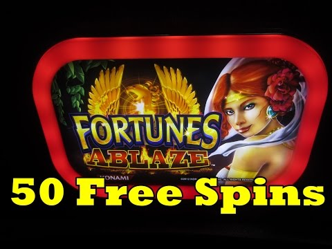 Konami – Fortunes Ablaze – Big Nickel Win!