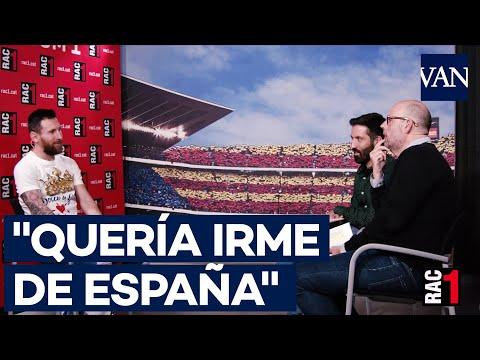 Messi No queria dejar el Barca  sino irme de Espana Jordi Baste entrevista a Messi Completa