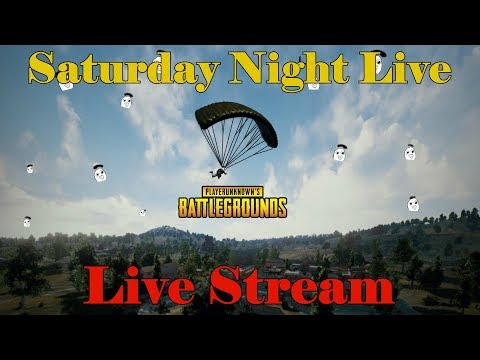 Saturday Night Live | PUBG | Live Stream | South Africa | Afrikaans