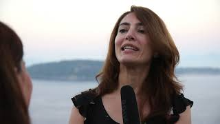 Caterina Murino con Chi salverà le rose? all'Ischia Film Festival 2018