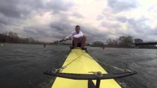 Testrennen auf dem Fühlinger See in Köln, Vorbereitung auf die Deutschen Meisterschaften in Brandenburg.