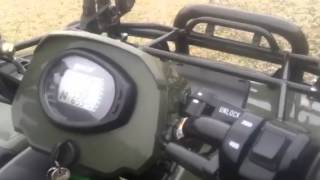 1. 2008 arctic cat 500 4x4