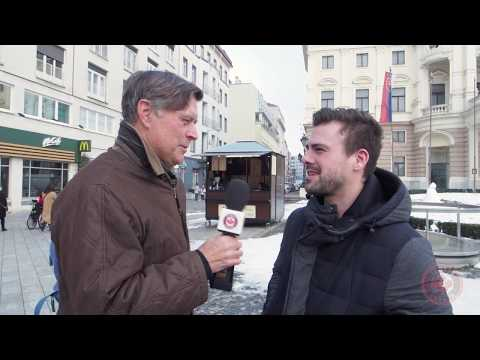 It was a day off from the courts for Tom Tebbutt today! Do Slovaks know their tennis? Canada's finest tennis reporter visited Bratislava's old town to find out!