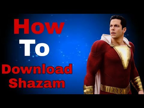 How to download Shazam movie in 480p/720p