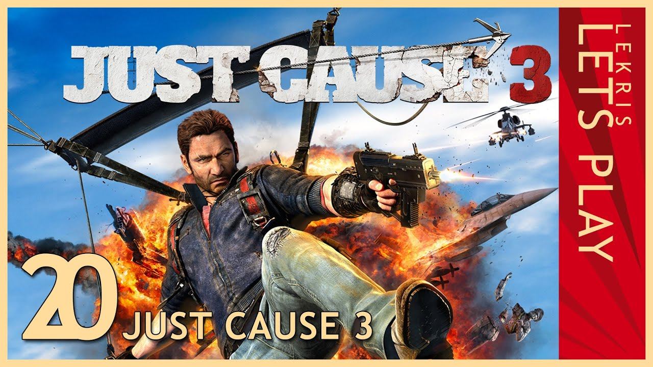 Just Cause 3 - Twitch Stream #20 26.04.2016 - 20:30 - LIVE, in Farbe und BUMM!