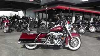 4. 628861 - 2002 Harley Davidson Road King FLHR - Used Motorcycle For Sale