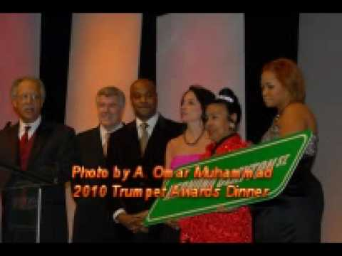 2010 Trumpet Awards Dinner Photo Montage