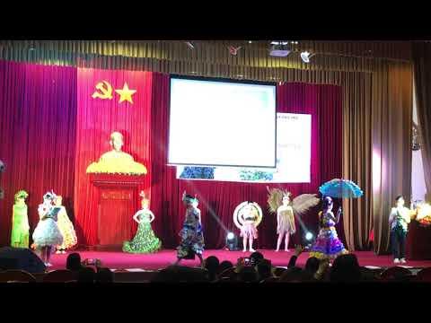 Biểu diễn thời trang với chủ đề bảo vệ môi trường - Đạt giải nhất cấp thành phố