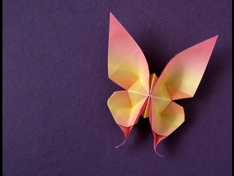 Swallowtail Butterfly Origami Tutorial