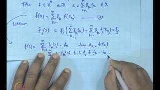 Mod-01 Lec-17 Dual Basis&Algebraic Reflexive Space