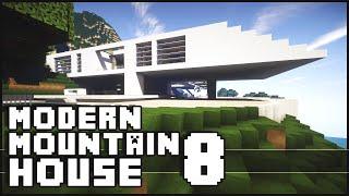 Minecraft - Modern Mountain House 8