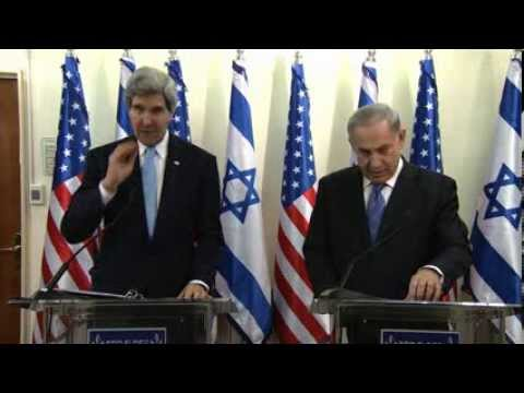 PM Netanyahu meets with US Secretary of State Kerry
