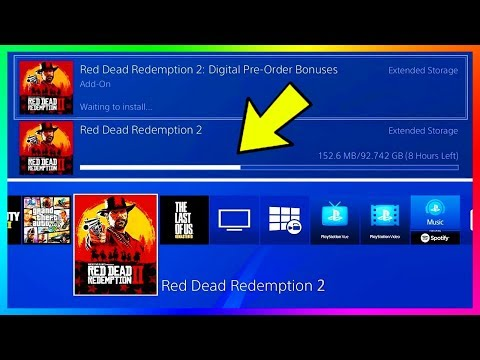 Red Dead Redemption 2 - NEW DETAILS! Downloading Early, Installation Requirements & Launch Trailer!
