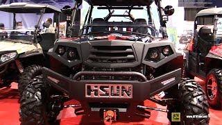 4. 2018 HiSun Strike 1000 Side by Side ATV - Walkarond - 2017 SEMA Las Vegas