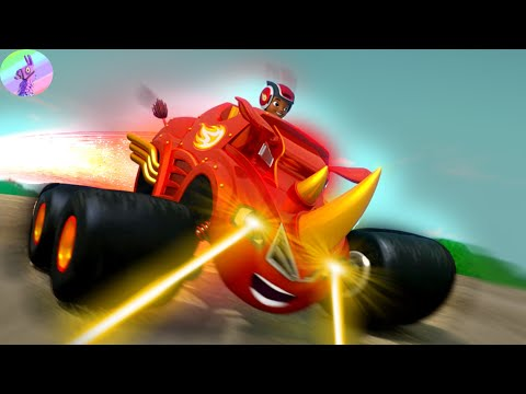 Blaze And The Monster Machines Full Episodes Cartoon for kids New 2020 #1