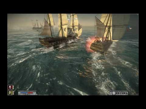 Napoleon Total War Naval Battle Devastating (Hard Mode)