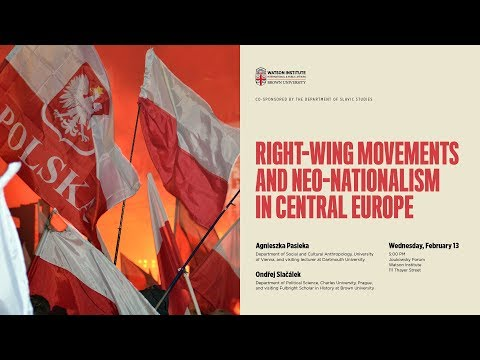 Right-Wing Movements and Neo-Nationalism in Central Europe