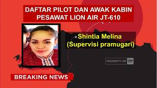 Video Ada 2 Suporter Timnas, Ini Daftar Korban Tewas Lion Air JT-610 MP3, 3GP, MP4, WEBM, AVI, FLV April 2019