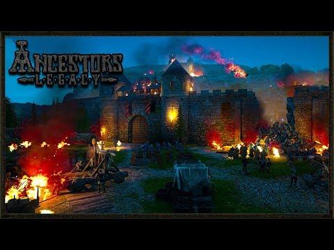 NEW MULTIPLAYER VIKING RTS GAME 2018 - Ancestors Legacy Gameplay