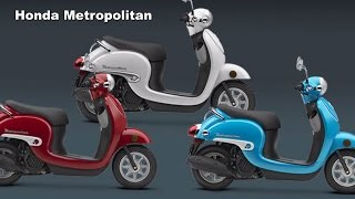 9. 2017 Honda Metropolitan Scooter : Mucho Metro - Look Cool Be Cool