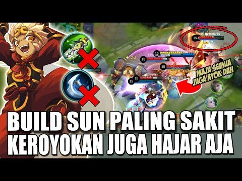 TERBARU 2019 BUILD SUN GO KONG PALING SAKIT BUILD TOP GLOBAL - MOBILE LEGENDS INDONESIA