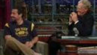 Late Show: Adam Sandler 6/8-07