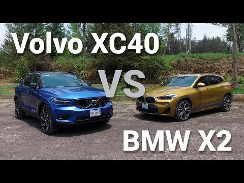 BMW X2 vs Volvo XC40