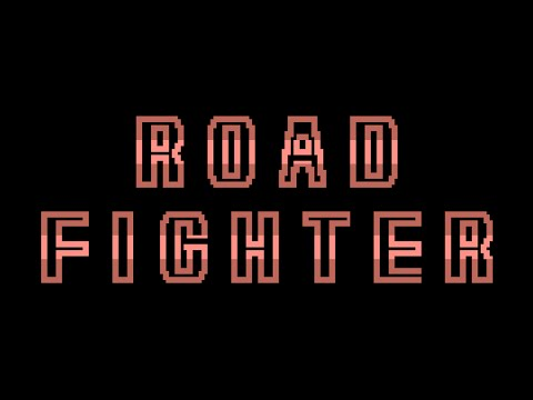 Road Fighter (1985, MSX, Konami)