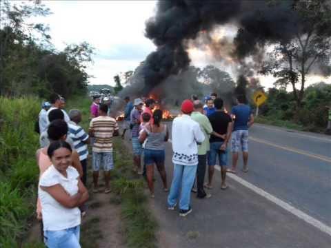 Manifestação pacifica em Brasilândia do Tocantins