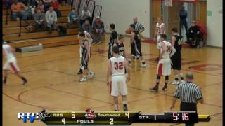 Rochester High School Boys Basketballl vs Southwood