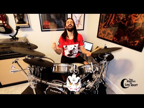 """Jay Weinberg x Two Minutes to Late Night """"Candy's Room"""" Cover"""
