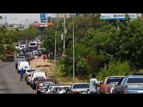 Venezuela: escasez de gasolina afecta a los venezolanos (VIDEO)